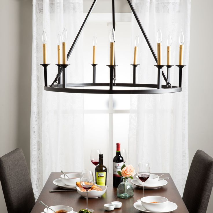 1000+ Ideas About Hanging Candle Chandelier On Pinterest