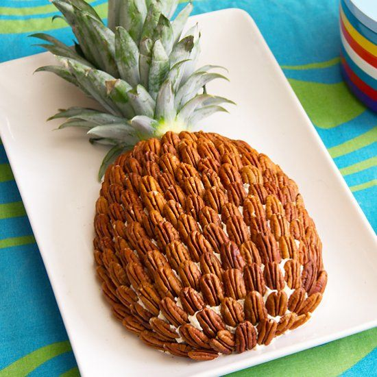 70s Style Pineapple Cheese Ball - This links to a page FULL of appetizers that sound incredible. I may have to try all of them...