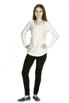 Dream of Glory Inc. Casual Full Sleeve Solid Women's Top