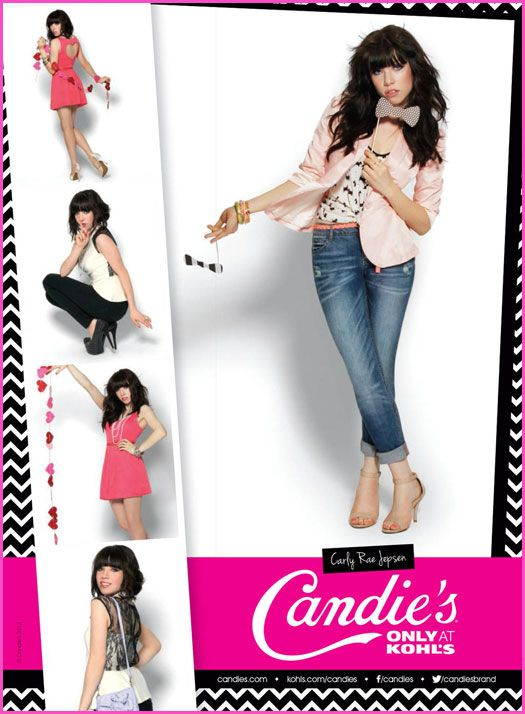 Carly Rae Jepsen Is The New Face Of Candie's