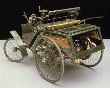 Do you know in 1888, first gasoline car and pneumatic tyres which is made up of …