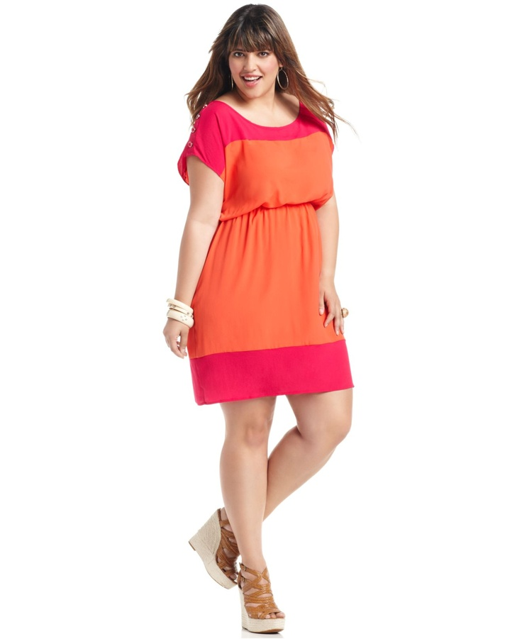 Soprano Plus Size Dress I'm going to miss Macy's