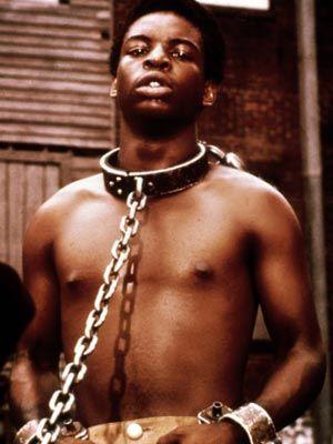 LeVar Burton as Kunta Kinte in Roots, 1977.
