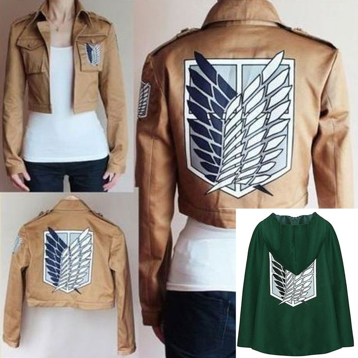 Attack on Titan Vest and Cape. Taxes and delivery included. Learn more at myscreenaddiction.com