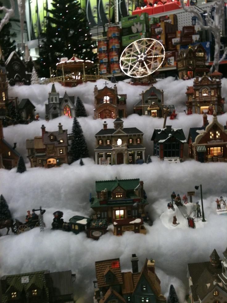 christmas village setup my miniature christmas village