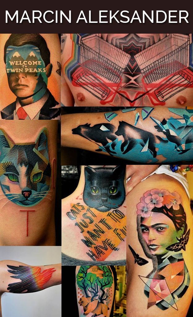 Marcin Aleksander Surowiec in Warsaw, Poland / The 13 Coolest Tattoo Artists In The World (via BuzzFeed)