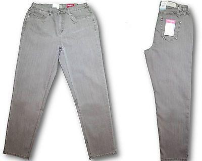 Stooker Dubai Damen Stretch Jeans Hose Taupe Slub Wash