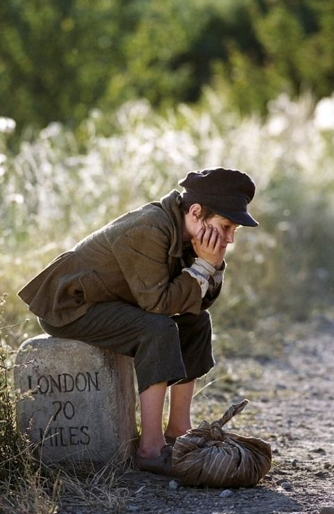 I know this is Oliver Twist, but it reminds me so much of Jonty as he likes to think of himself as Oliver.