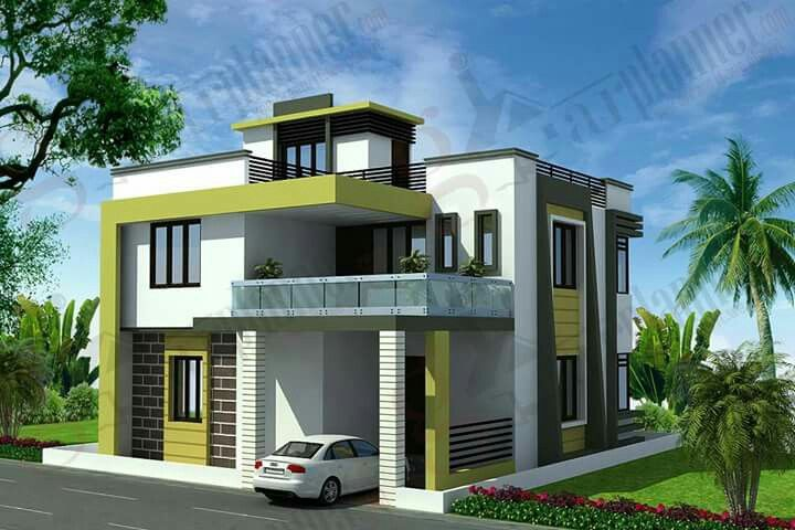 Pin By Prabhakar Hanji On Projects To Try Latest House Designs Duplex House Design Exterior House Colors