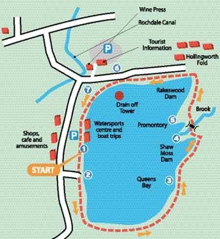 Image result for hollingworth lake walk