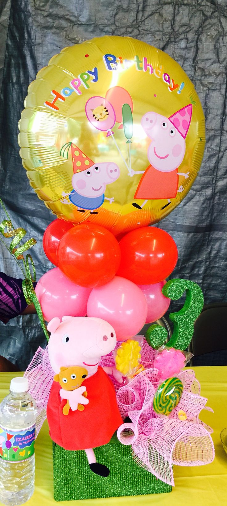 Pe peppa pig online coloring pages - Peppa Pig Centerpiece