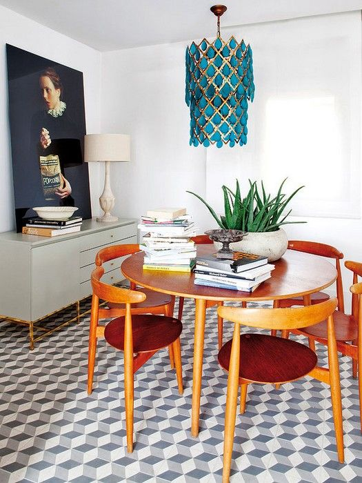 Madrid Un Appartement De Luxe Au Look Vintage A Luxury Apartment In Dining Room
