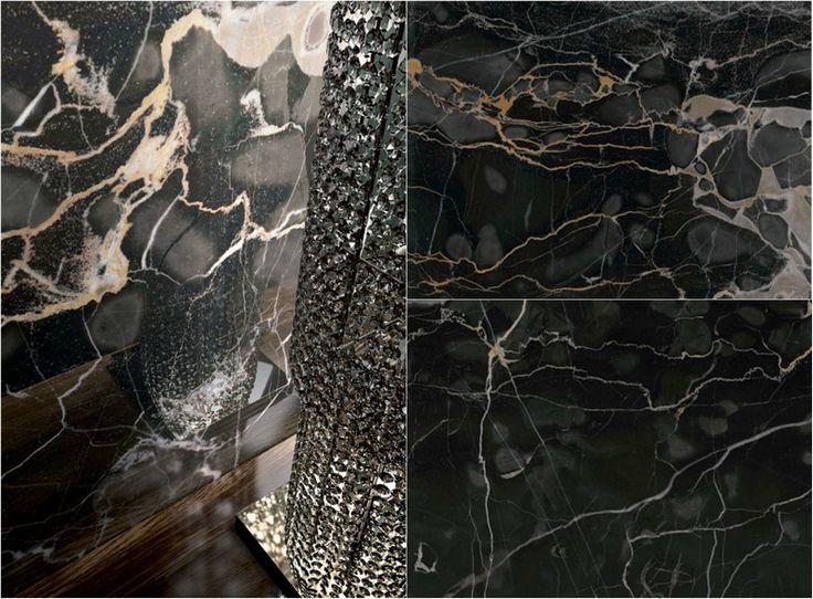 Image result for marble porcelain black