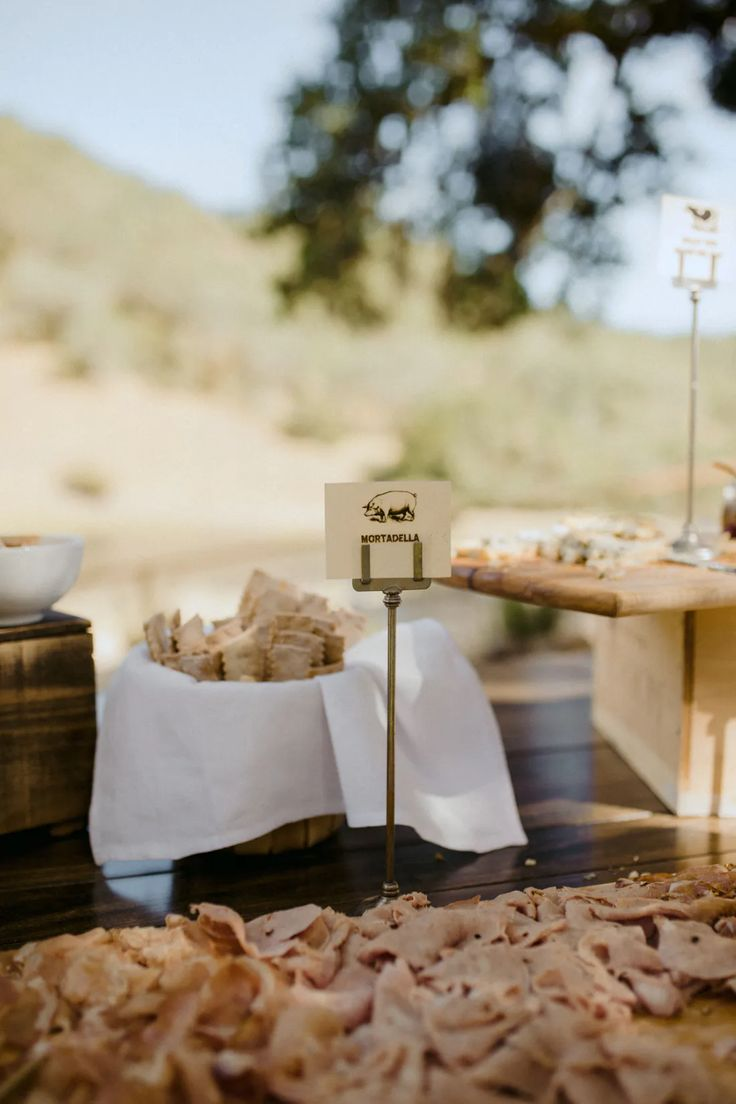 The Girl The Fig Caters Rustic Outdoor Floral Wedding At French Oak Ranch In Sonoma Ca Partyslat Wine Country Wedding Rustic Outdoor Place Card Holders
