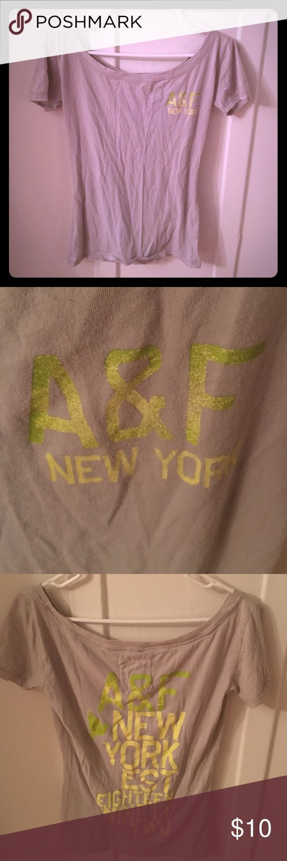 Abercrombie & Fitch shirt! Super cute. And soft! Cute, casual tshirt. Abercrombie and Fitch. Make me offers. Abercrombie & Fitch Tops Tees - Short Sleeve