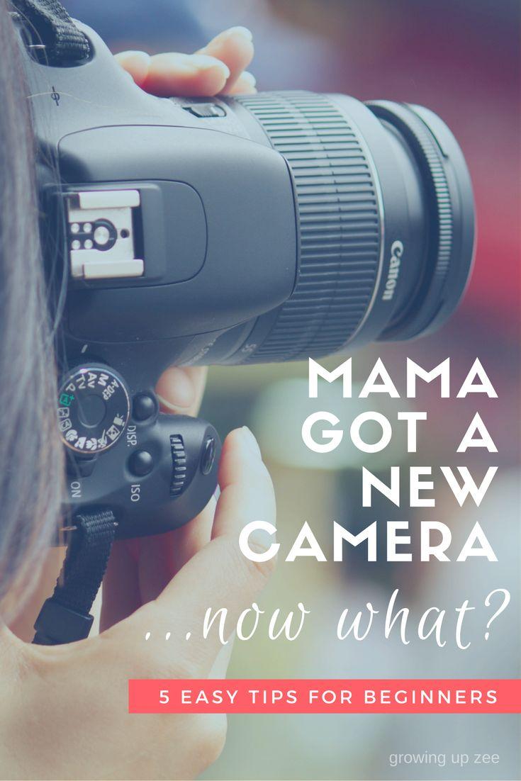 Mama got a new camera
