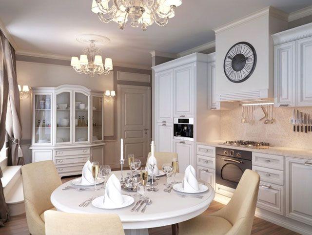 #excll #дизайнинтерьера #решения Стоит также отметить универсальность белого цвета. Он будет прекрасной основой для кухни любого стиля – как в классическом стиле так и в модерне.