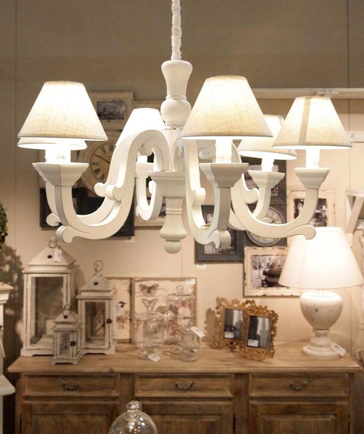 lampadari stile provenzale : ... Lampadario vintage, Lampadario bianco e Lampadari camera da letto
