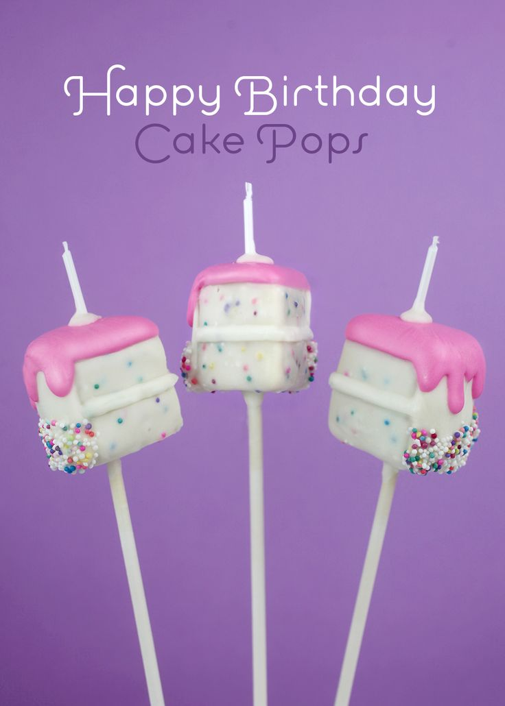 Happy Birthday, Cake Pops! | Bakerella | Bloglovin'