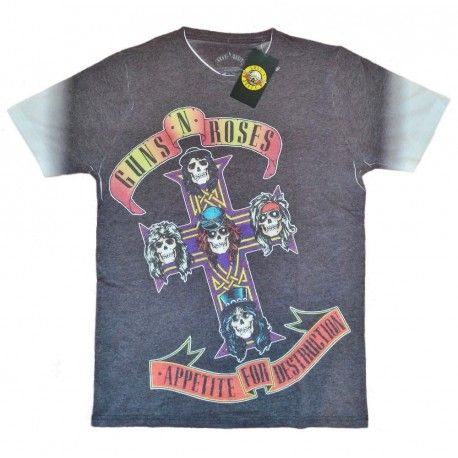 Tricou Guns N' Roses: Appetite For Destruction