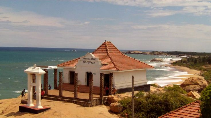 Kirinda is famous for an ancient minor port & a rock temple facing the blue waters of the southern coast. #TravelSL https://natureindigitaleye.com/2016/01/08/kirinda-beach-temple-sri-lanka/