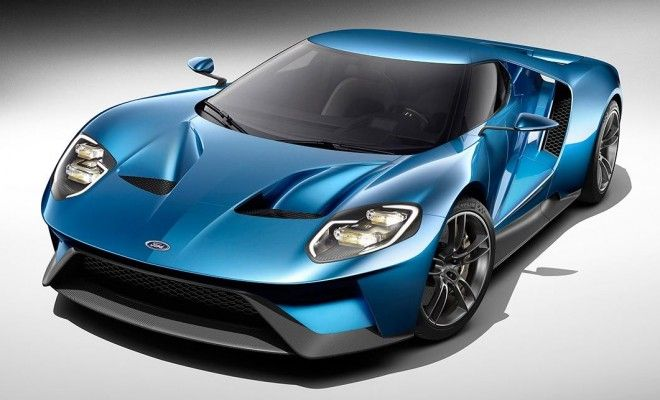 Stunning NEW 2016 Ford GT supercar revealed in Detroit. See ti here!