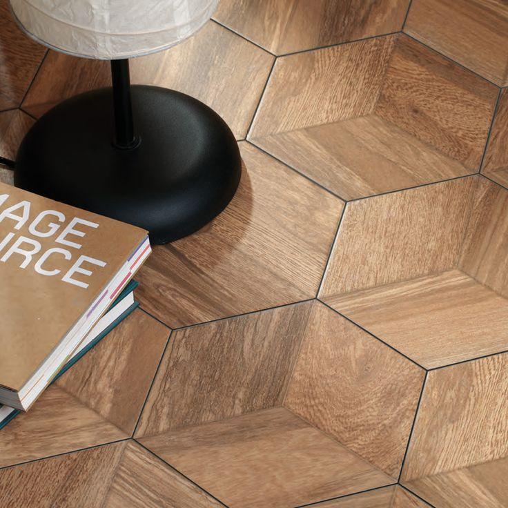 17 ideas sobre revestimiento de madera de imitaci n en - Ceramica imitacion madera exterior ...