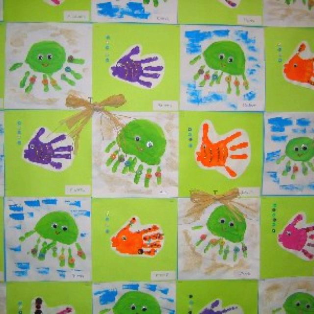 Great art projects for an ocean unit!