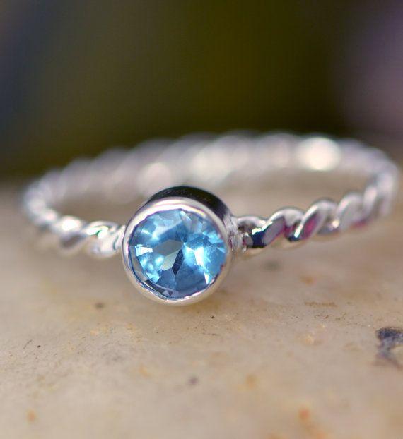 December Birthstone Ring  Gemstone Ring  by TheJewelryGirlsPlace, $49.95