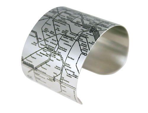 Paris Metro cuff <3