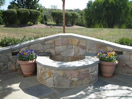 Elegant Fire Pit In Retaining Wall Images   Google Search