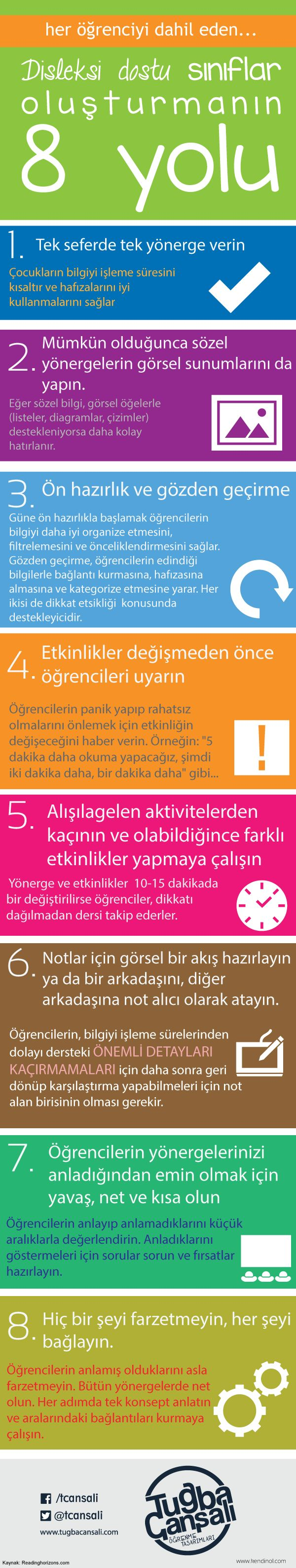 Disleksi Dostu Sınıflar Oluşturmanın 8 Yolu [İnfografik]