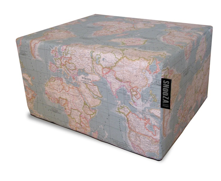 Limited edition SNooZA - Hertex World map aqua. Find this in our limited edition section. R2050 including delivery.