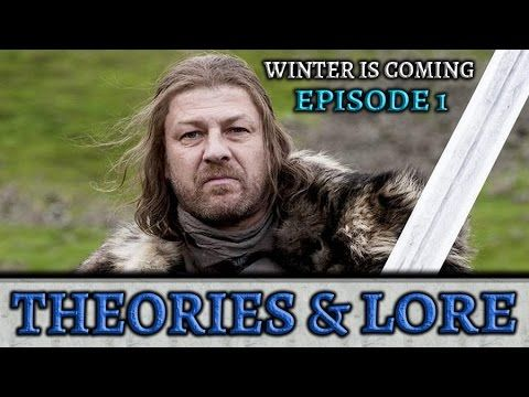 8 de abr de 2017 Previous Video - https://www.youtube.com/watch?v=8glRf... Game Of Thrones Season 7 Promo! What It Means... - https://www.youtube.com/watch?v=s0ZTl... What Makes A Good King? (Game of Thrones) Fan Tribute - https://www.youtube.com/watch?v=d35Xx... Winter Is Coming Episode 1 Theories and Lore   Companion Podcast