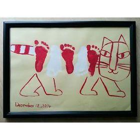 【ママ必見】おしゃれなママはみんなやってる♪手形・足形アート61選!! - NAVER まとめ