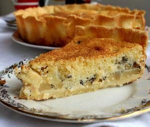 Яблочно-маковый пирог с нежнейшей заливкой