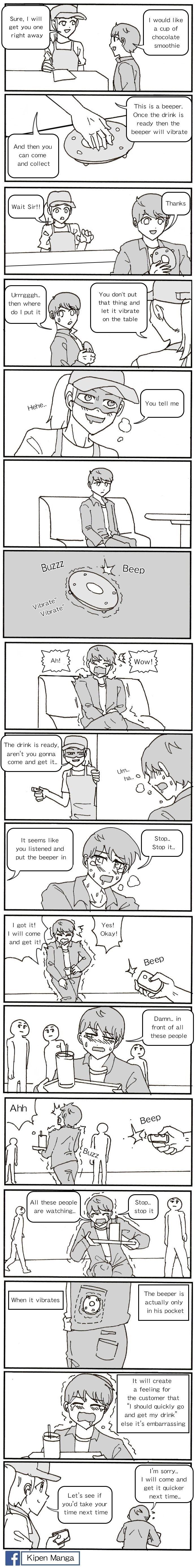Kipen Manga - Drink