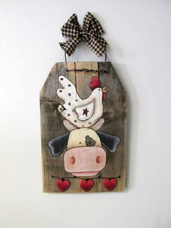 Hey, I found this really awesome Etsy listing at https://www.etsy.com/listing/205895302/chicken-sitting-on-top-of-cow-head-hand