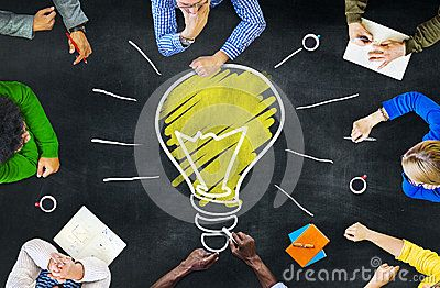 Stock Photo about Ideas Thoughts Knowledge Intelligence Learning Meeting Concept