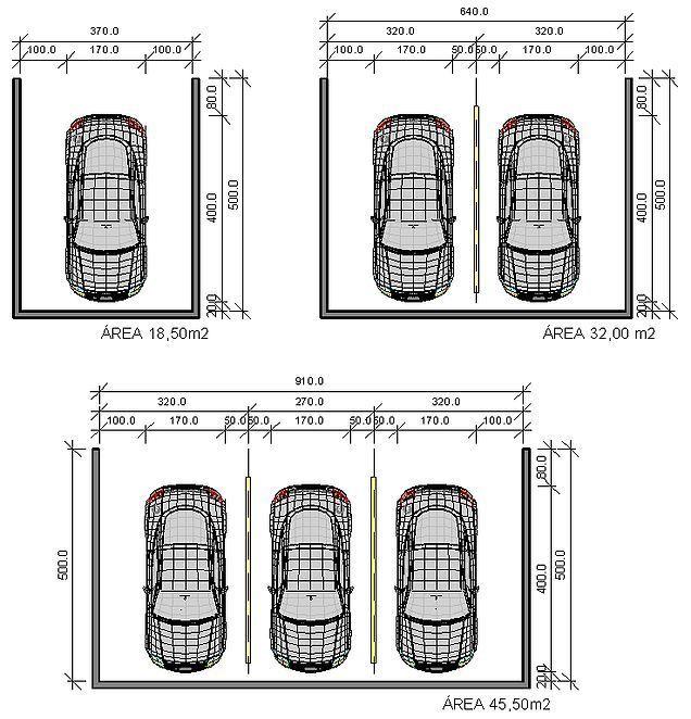 Medidas De Una Garaje Buscar Con Google Diseños De Cochera Diseño De Garaje Garaje Exterior