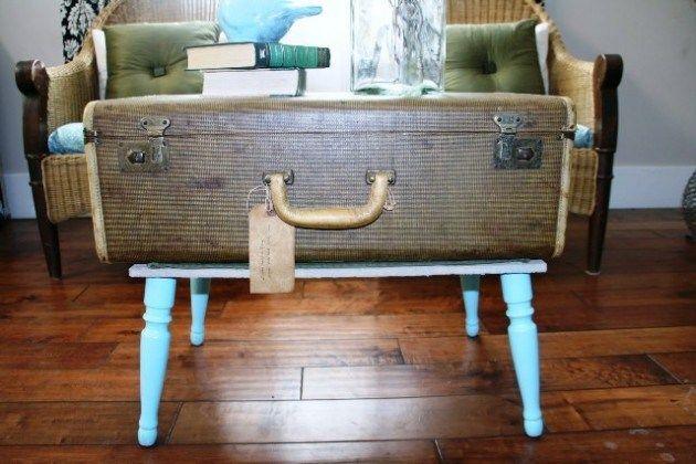 Wie man einen Koffertisch macht | Koffertisch ...