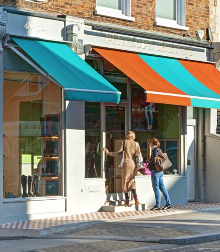 Penelope Chilvers shoe shop on Ledbury Road.