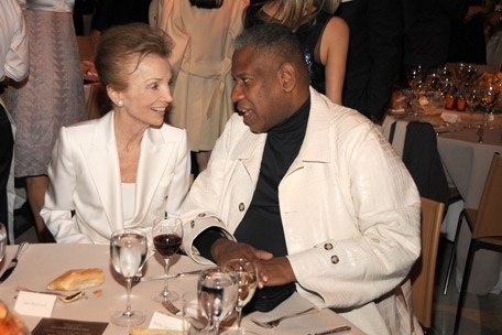 With Andre Leon Talley.