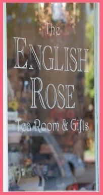 The English Rose Tea Room in Pleasanton, California