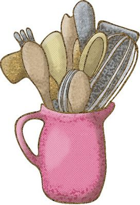 385 best cutlery illustrations images on pinterest for Cosas de cocina