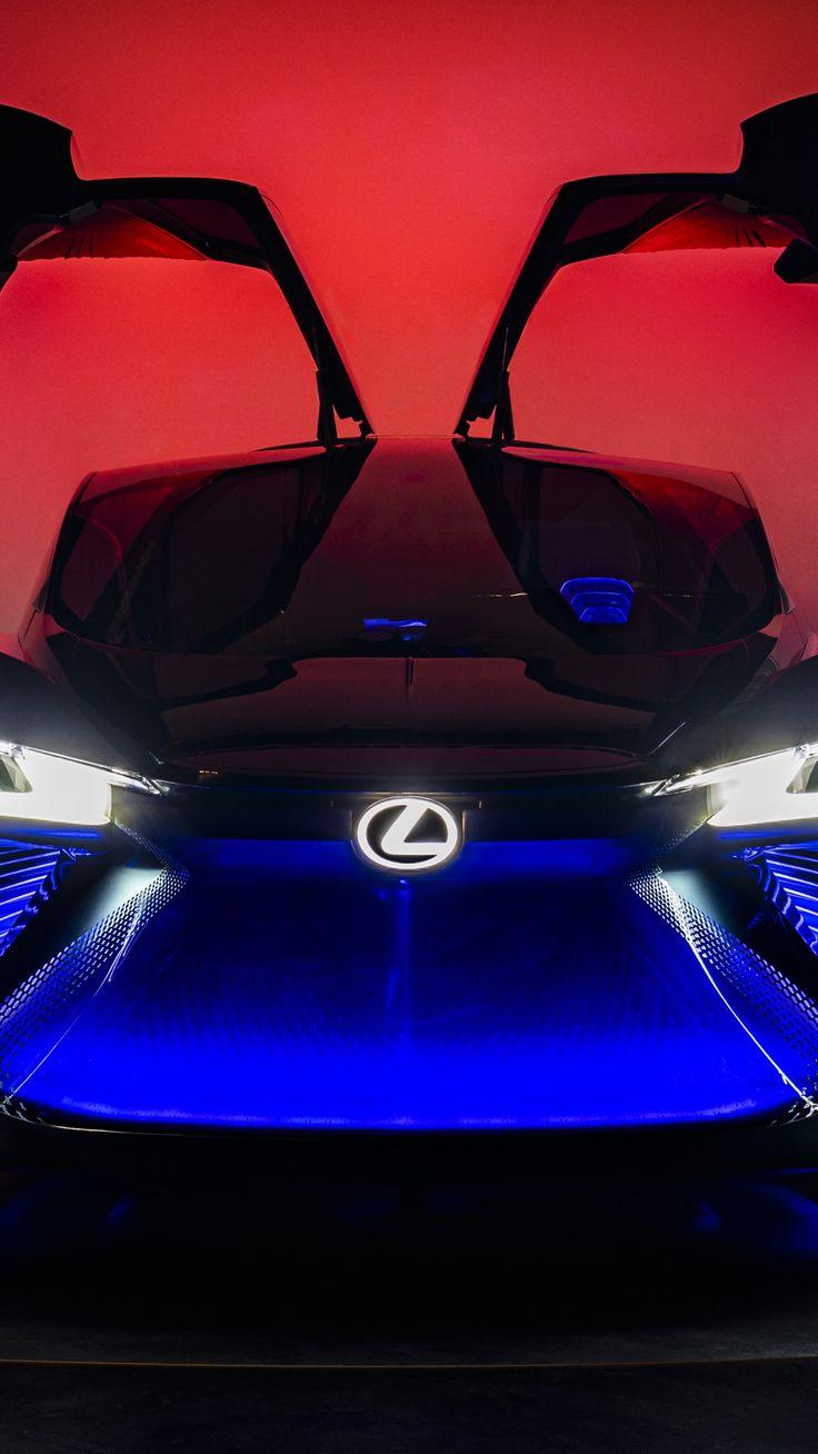 Download Lexus LF30 Electrified, blue glow, sports car
