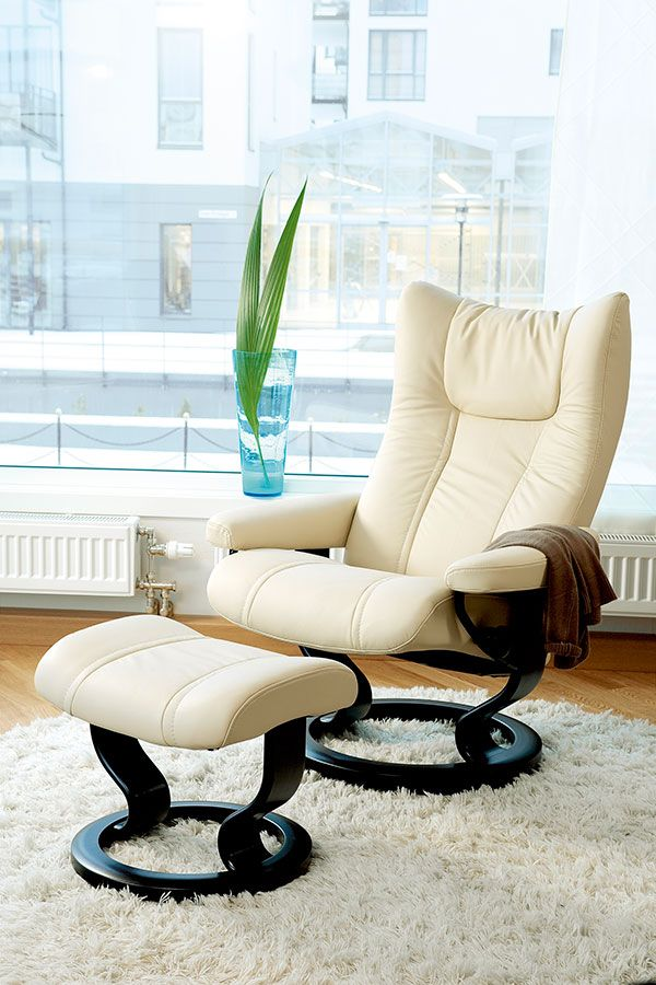 A stylish cream recliner and ottoman perfect for the modern contemporary living room and home Stressless Recliners provide superior comfort and support for ... & 226 best Stressless Furniture - Sarasota FL images on Pinterest ... islam-shia.org