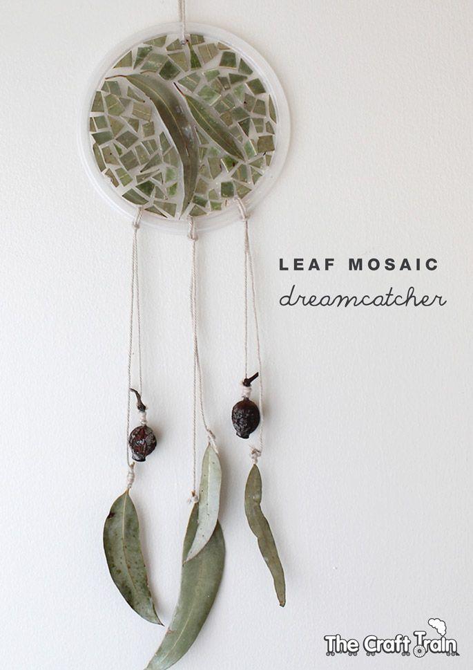 Leaf Mosaic Dreamcatcher