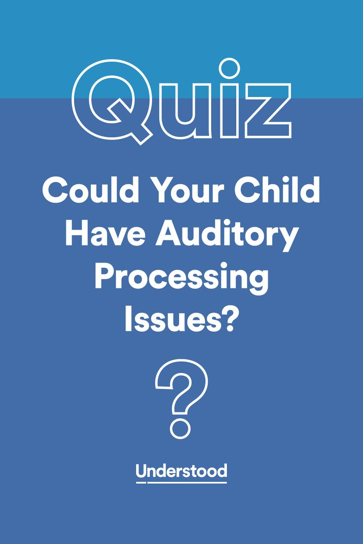 Signs of auditory processing disorder can be easy to miss. Take our quiz to find out if your child could have auditory processing disorder.