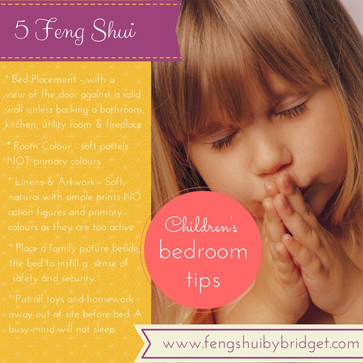 5 Feng Shui Children's bedroom tips.  #fengshuichildrensroom, www.fengshuibybridget.com